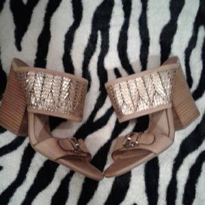 Nwot Nicole heeled shoe